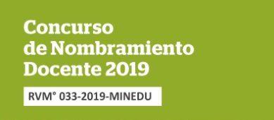 Resultado de imagen para nombramiento docente 2019